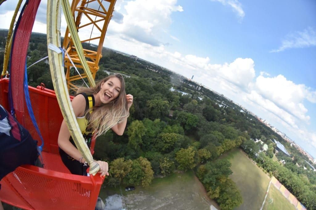 Urodzinowy skok na wrocławskim bungee