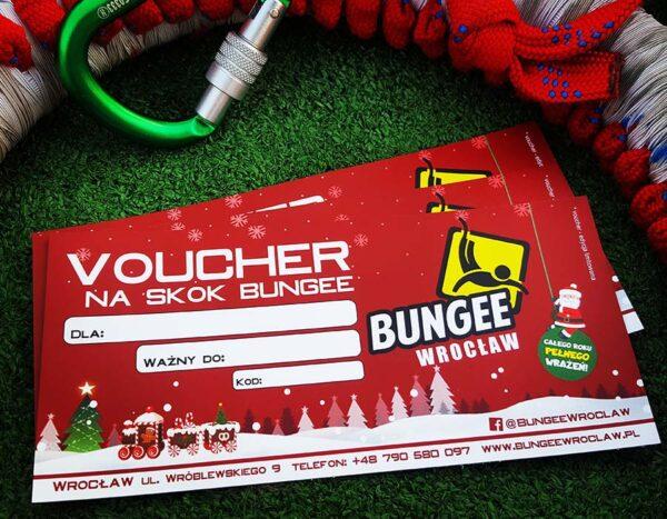 Świąteczny voucher na bungee we Wrocławiu