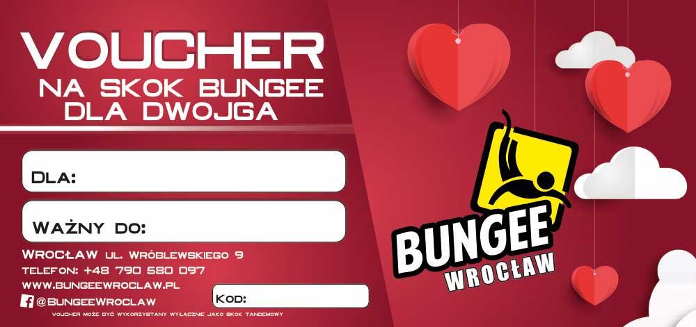 Walentynkowy voucher na skok bungee dla dwojga
